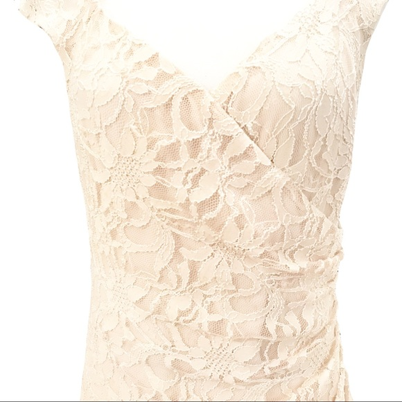 Lauren Ralph Lauren Dresses & Skirts - Ralph Lauren Lace Dress Fitted Party Wedding